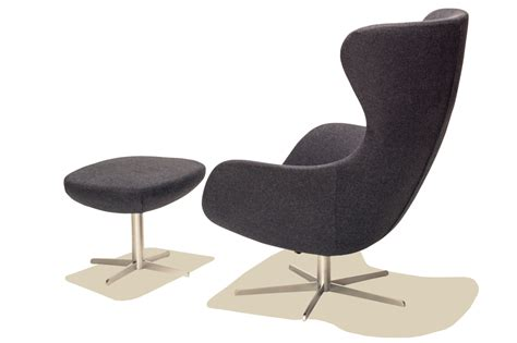 Armchair With Stool S 248 Ren Lund Sl407 Arm Chair And Stool Nordic Urban Gmbh