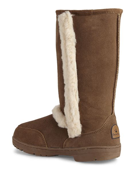 bearpaw boots bearpaw hickory eskimo boots in brown lyst