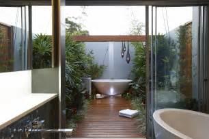 Outdoor Bathroom Designs Bathroom Ravishing Outdoor Bathroom With Bamboo Plant