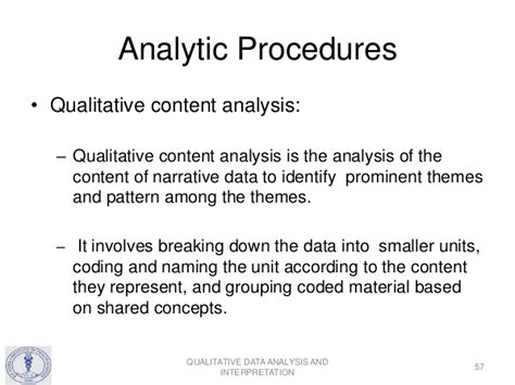 qualitative research analysis themes qualitative data analysis and interpretation