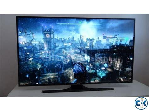 Tv Samsung Ju6400 samsung 60 inch ju6400 4k smart tv clickbd