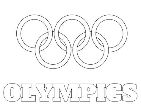 olympic rings coloring page olympic rings coloring sheet printable