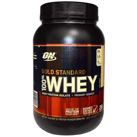 Whey Protein Isolate optimum nutrition gold standard 100 whey whey protein isolate cake donut 2 lb 907 g