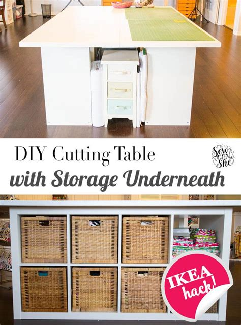 sewing table with storage 25 best ideas about sewing room storage on