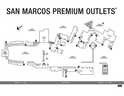 San Marcos Outlet Mall Map