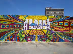 Colorful Wall Murals visitor s guide to houston