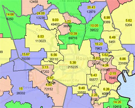 texas school district map by region texas school districts 2010 2015 largest fast growth