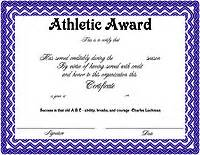 Athletic Certificate Template by Athletic Certificates Driverlayer Search Engine