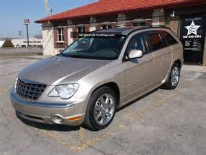 2007 Chrysler Pacifica Fuel 2007 Chrysler Pacifica Limited Sport Utility 4 Door 4 0l