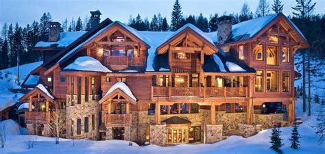 log home mansions mansion log cabin looks like heaven wished it was