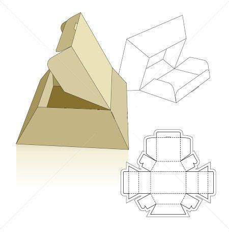 pyramid base box it s all about da packaging pinterest