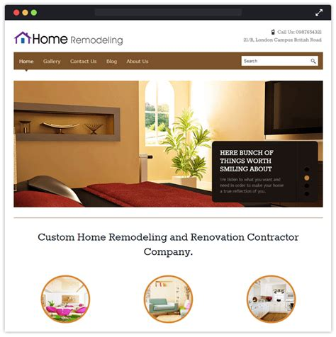 home design wordpress theme 10 best interior designing remodeling wordpress themes