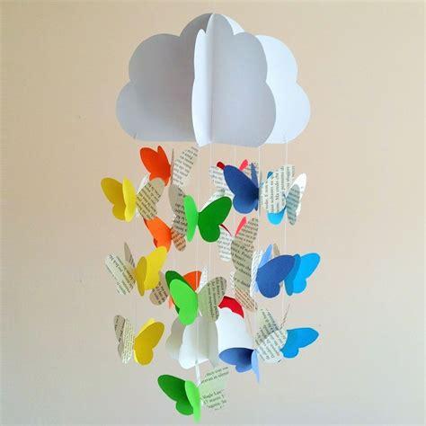giostrine culla giostrina per culla neonato con nuvola e farfalle a pagine