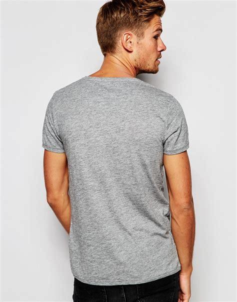 Quiksilver T Shirt Bluish Grey With Motif Pocket Kaos Quiksilver esprit damen t shirt esprit t shirts esprit printed t shirt petrol blue 2016 esprit