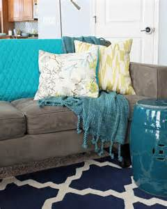 blanket for sofa how and where to use throw blankets teal and lime by