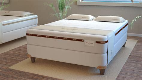 comfort expressions mattress furniture unpolish wooden platform bed with grey