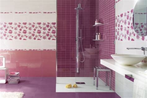 bagni piastrellati moderni bagni colorati