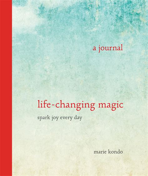 change from within a journal of exercises and meditations to transform empower and reconnect books 8 pages from kondo s new book spark joy