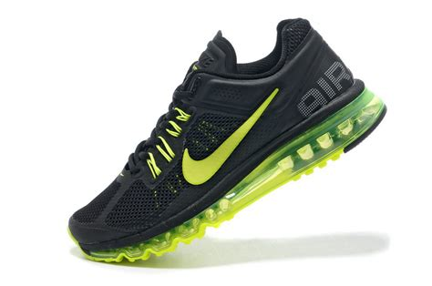 black and neon green nike shoes s nike air max 2013 black neon green nike air max