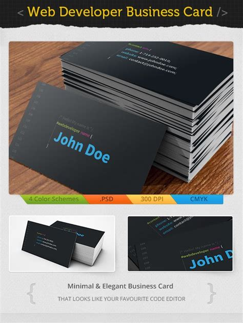 web development business cards 17 best images about acxin on panerai watches logos and digital