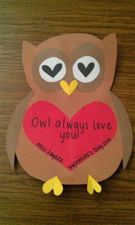 owl valentines day s day owl craft i this one maybe make it