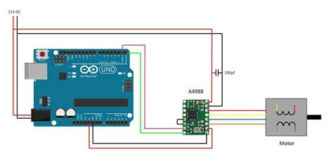 arduino stepper motor wiring diagram efcaviation