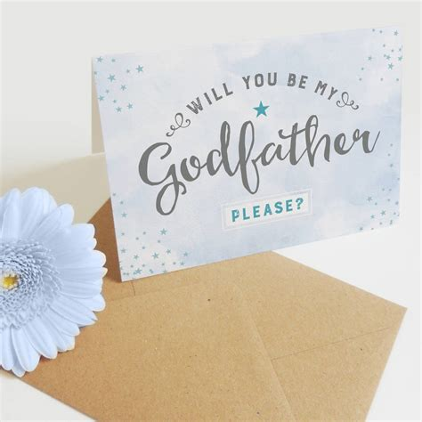 will you be my godfather card by project pretty