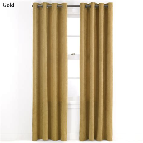 grommet curtain panels cardiff chenille grommet curtain panels by j queen new york