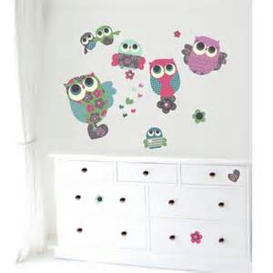 Wall Sticker Owl owl wall stickers nursery stickers kids room decor