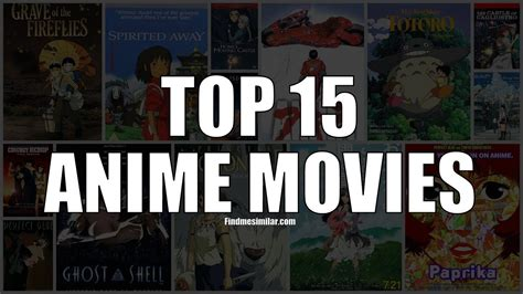 film anime terbaik film anime terbaik top 15 best anime movies ever youtube