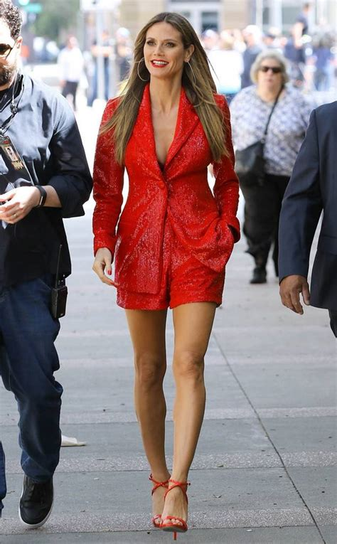 Whos Hotter Will Ferrell Or Heidi Klum by Heidi Klum From The Big Picture Today S Photos E News