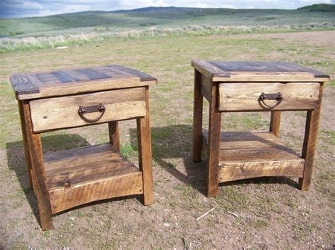 rustic wood end tables 7 easy and creative diy end table ideas