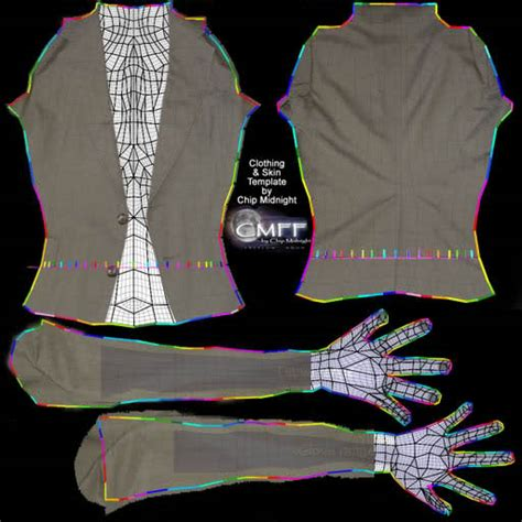 virtual world clothing templates joy studio design