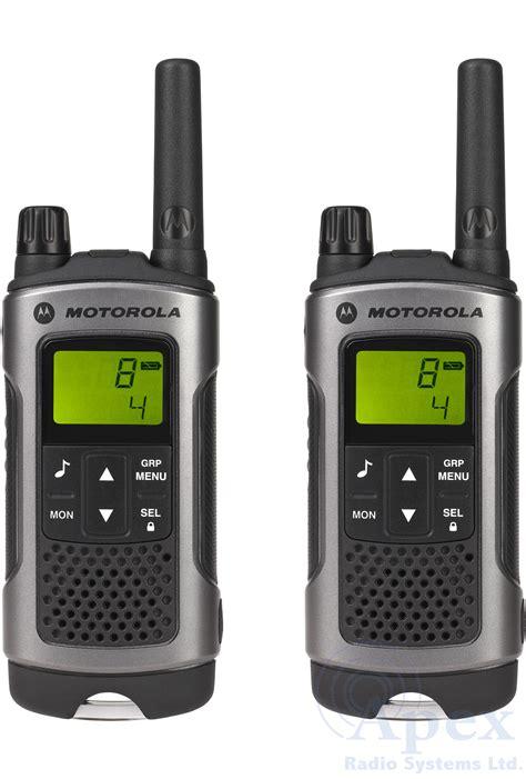 Motorola Tlkr T80 Walkie Talkie motorola tlkr t80 pack apex radio