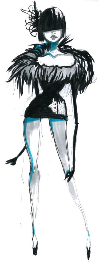 fashion illustration uses fashion illustration by used bandaid on deviantart