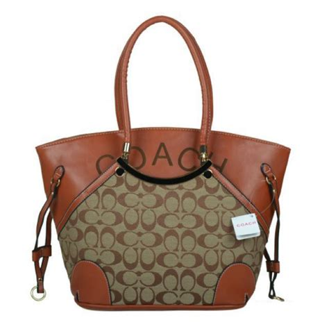 couch outlets coach logo monogram small beige totes bkh coach160310