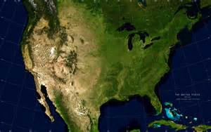 satellite map united states satellite image giclee print physical