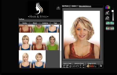 Changer De Coiffure by Changer De Coiffure Virtuelle Gratuit Femme Salon Of