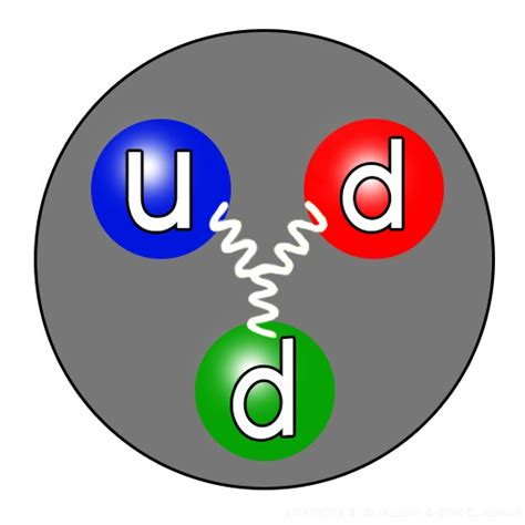 Proton Definition by File Neutron Quarks Structure Jpg