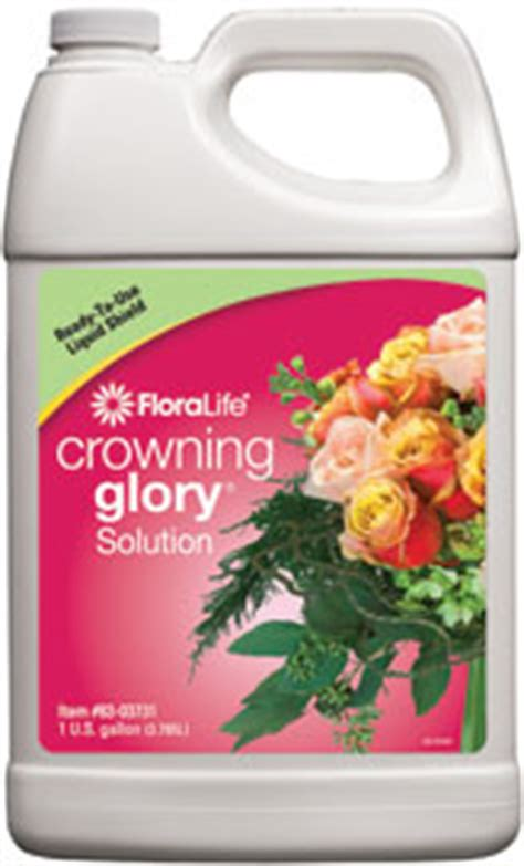 clear crowning glory floral supply syndicate floral crowning glory 1 gallon