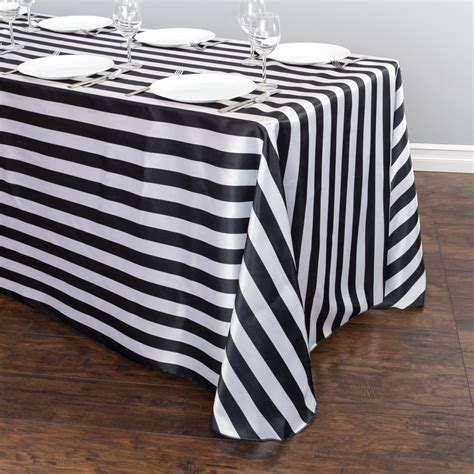 black and white striped tablecloth black and white tablecloth peenmedia