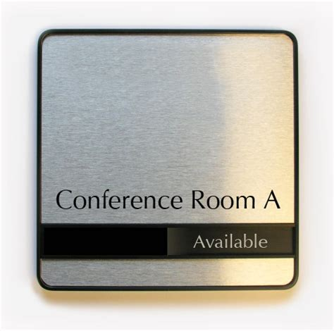 conference room signs sliding in out room signs