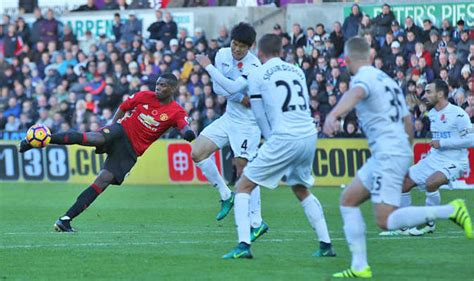 paul pogba needed those goals swansea 1 manchester united 3 pogba and ibrahimovic bag
