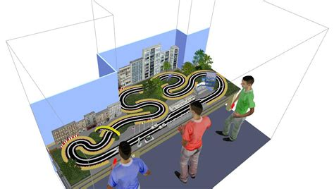 slot car layout design software slot car track layouts auto hobby