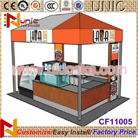 design booth outdoor 3x2m outdoor kiosk for food outdoor booth design from