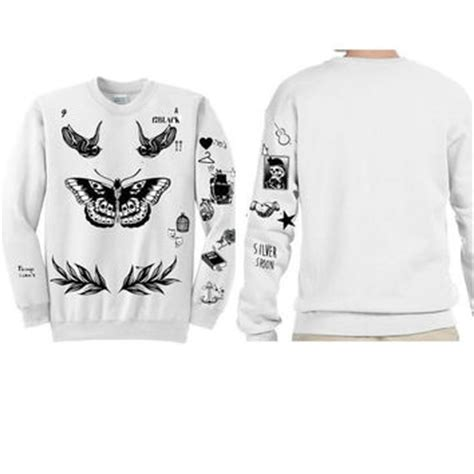 harry styles tattoo sweatshirt shop harry styles sweatshirt on wanelo