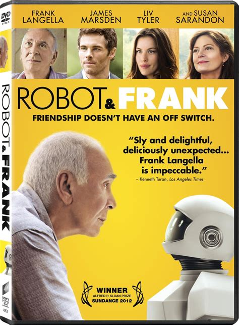 film robot and frank robot frank dvd release date february 12 2013