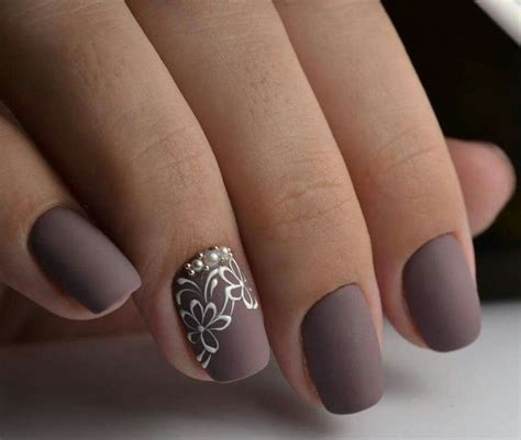 imagenes de uñas decoradas grises 17 mejores ideas sobre u 241 as color mate en pinterest u 241 as