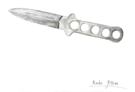 Drawing Knife by How To Draw Knife Hearts