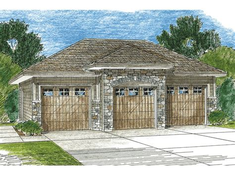 Detached 3 Car Garage Plans by 3 Car Garage Plans Three Car Garage Plan Design 050g